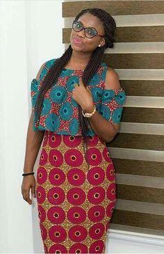 Latest Ankara Dress Styles - Loud In Naija African Dresses For Women, African Print Dresses, African Attire, African Wear, African Fashion Dresses, African Women, African Style, Ankara Fashion, African Prints