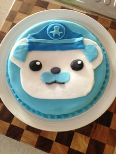 Random Drawers: Octonauts Cake- Captain Barnacle