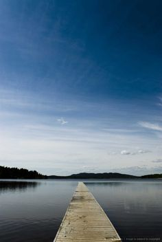 A lake in Norrland, Sweden