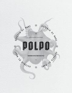 Polpo Restaurant on Behance — Designspiration