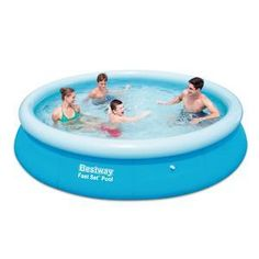 Self-supporting swimming pool - PVC - Ø 366 x H 76 cm - Blue