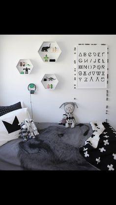 Monochrome boys room