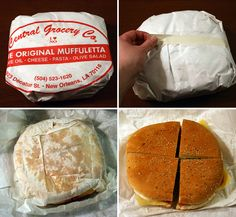 Central Grocery's original Muffuletta. One of the most amazing things I've ever put in my mouth!!!