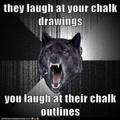 advice animals memes  - Animal Memes: Insanity Wolf: They Did Fall in a Funny Position