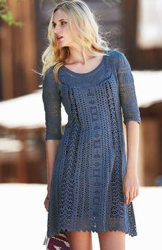 Sexy Crochet Dress Casual and Y Crochet Dress How to Wear Y Crochet Dresses to Rock This Summer 2018 Sexy Crochet Dress . Crochet Dress Pattern Crochet Mini Dress Crochet Crochet Dress Women Y Cotton Blend Knitted Hollow Out. Black Crochet Dress, Crochet Skirts, Crochet Clothes, Knit Dress, Lace Dress, Dress Pants, Beau Crochet, Filet Crochet, Crochet Lace