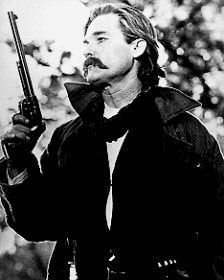 "Wyatt Earp, Tombstone- ""You gonna do somethin'? Or are you just gonna stand there and bleed?"""