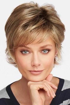 Responsible Esin Blend Hair 10 Pixie Cut Women Wigs With Bangs Fluffy Layered Natural Wave Short Hair Ombre Wig Synthetic Fibre Hair Extensions & Wigs