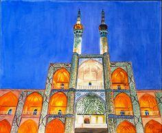 Une Osseinie à Yazd