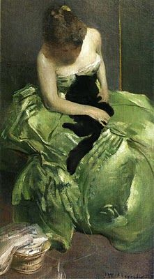 19th-century American Women: Go Green! American Painter John White Alexander (1856-1915)