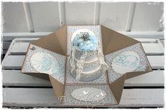 Scrappelyst Exploding Boxes, Cardmaking, Decorative Boxes, Scrapbook, Organization, Tags, Diy, Wedding, Home Decor