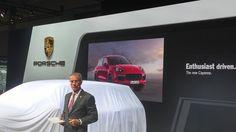 Presentación nuevo Porsche Cayenne