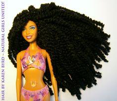 Natural Hair  Custom Ethnic Dolls