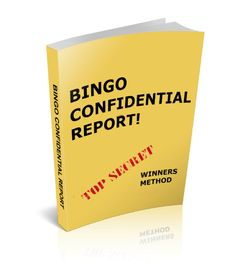 The best guide to winning more bingo games that I have ever read!