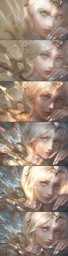 Elementalist Lux's Light Form: Work-In-Progress