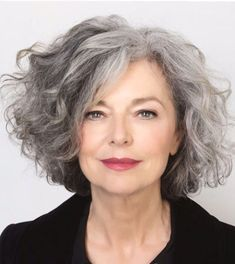 Salt and Pepper Hair Medium Length Wave Synthetic Lace Front Wigs 12 Inches - Grey curly hair - Hair Grey Curly Hair, Silver Grey Hair, White Hair, Short Gray Hair, Curly Short, Grey Hair Haircut, Grey Hair Natural, Gray Hair Women, Wavy Hair