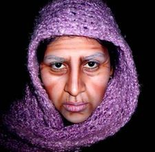 Theatrical makeup - Old Age