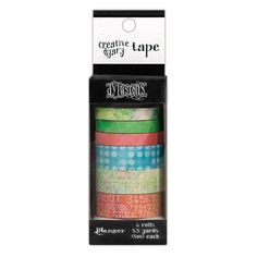 Dylusions Creative Dyary Tape by Ranger for Scrapbooks, Cards, & Crafting found at FotoBella.com