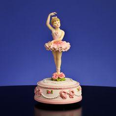 San Francisco Music Box Ballerina and Bows Rotating Figurine - Giving ...