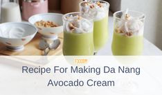 Make Coconut Milk, Dry Coconut, Coconut Cream, Avocado Cream, Cream Cups, Reduce Cholesterol, Fresh Milk, Reduce Belly Fat, Da Nang