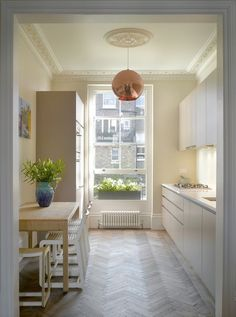 33 Long Narrow Kitchen Layout Suggestions We found numerous l. - 33 Long Narrow Kitchen Layout Suggestions We found numerous long narrow kitchen - Kitchen On A Budget, Home Decor Kitchen, Kitchen Furniture, Kitchen Interior, New Kitchen, Home Kitchens, Kitchen Ideas, Galley Kitchens, Kitchen Decorations
