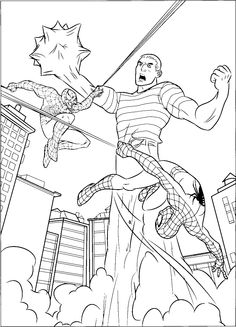spiderman vs venom coloring pages.html