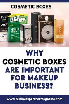 The packaging of cosmetic items is very sparkling and glossy that you are automatically convinced to buy what is inside the package. #cosmeticboxes #packaging
