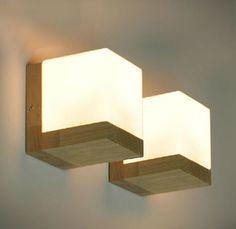 Modern-Oak-Wood-Wall-Lamp-Glass-Cover-Light-DIY-Lighting-Home-Cafe-Simple-Design