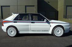"1992 Lancia Delta Integrale Evo 1 ""Martini 5″. Lancia Delta, E30, Ferrari F12 Tdf, Mitsubishi Cars, Hatchback Cars, Power Cars, Rally Car, Bugatti Veyron, Hot Cars"