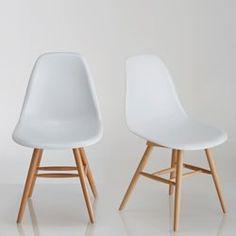 Chaise à coque plastique (lot de 2), Jimi La Redoute Interieurs