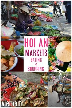 Hoi An Vietnam Food and Markets. We lived in Hoi An for 6 months, experiences of eating and shopping for food in Hoi An's beautiful and incredible markets. Some of the best food in the world! Vietnam Vacation, Vietnam Travel, Asia Travel, Travel Tips, Travel Route, Travel Checklist, Travel Ideas, Travel Inspiration, Ireland Food