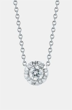 Kwiat 'Sunburst' Diamond Pendant Necklace available at #Nordstrom