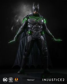 "I was responsible for creating the mobile mesh for ""Batman"". Injustice 2 Supergirl, Injustice 2 Batman, Injustice 2 Characters, Dc Comics Characters, Batman Artwork, Batman Wallpaper, Batman Gotham Knight, Batman Redesign, Batman Suit"