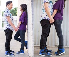 Relationship goals? More like relationship style goals!  Add more fun to your look whenever you go out on a date with your sweetheart by wearing Shoe String King colorful and unique shoelaces. Buy now at www.ShoeStringKing.com! #SSKfemale #SSKmale #couple #engagement #blue #nike #jordan #sweet #urban #shoe #shoes #shoeporn #shoegasm #kickstagram #instagood #instapic #instastyle #instatrend #instafashion #solecollector #shoescommunity #sneakerheads #shoelaces #shoestrings #followme