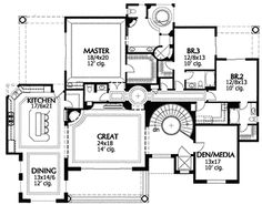 Hacienda for Sloping Lot with Elevator - 16335MD | Mediterranean, Spanish, 1st Floor Master Suite, Butler Walk-in Pantry, CAD Available, Den-Office-Library-Study, Drive Under Garage, Elevator, PDF, Sloping Lot | Architectural Designs