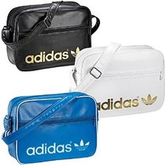e3465be53b Adidas Originals Airline Shoulder Bags with Retro Logo School Bags