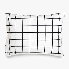 Bedding Sets for Luxury Homes – Best Bed Linen Ever Black And White Sheets, Black White Bedding, Black And White Pillows, Bedroom Black, Black Pillow Cases, Black Duvet Cover, Black Cover, Vsco, Bedding Sets Online