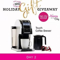 Holiday Gift Giveaway: Day 2 Touch Coffee Brewing System