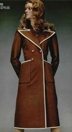 1971 - Yves Saint Laurent Couture collection