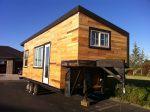 Macy Miller's Tiny House on a Gooseneck Trailer