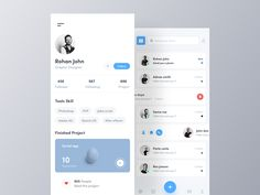 Share some love by pressing & if you like this shot :) ---------------------------------------------------------------- Looking for UI app design? Learn more about our works here and contact us. Ui Design Mobile, App Ui Design, Interface Design, User Interface, Wireframe, Profile App, To Do App, Card Ui, Task To Do