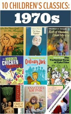 It includes some well known and lesser known titles. Most of these authors have dozens of well respected books under their belts and many are still writing today. That is great news for those of you looking to add even more books to your child's reading lists.