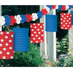 of July : Memorial Day / July : Party Supplies 4th Of July Celebration, 4th Of July Party, Fourth Of July, Usa Party, Queen 90th Birthday, 90th Birthday Parties, Patriotic Party, Patriotic Decorations, Party Girlande