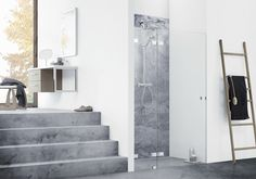 With AIR shower solutions Dansani have merged extreme minimalism and strict simplicity to create the perfect illusion of showering unscreened.