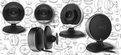 oco2 - Home monitoring camera on Behance