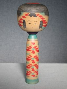 Kokubu Eiichi 国分栄一 (1932-2014), Master Kamata Bunichi, 23 cm, Kojiro 幸治郎 type | big head of Watanabe Kojiro 渡辺幸治郎 (1889-1927)