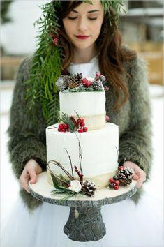 クリスマスにぴったりなwedding cakeまとめ12♡にて紹介している画像