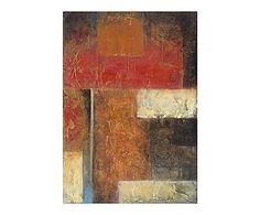 Lienzo sobre bastidor de madera Arte abstracto IX - 50x75 cm