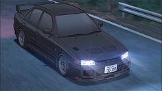 Mitsubishi Lancer EvolutionⅢ in 'Initial D' Initial D Car, Tumblr Car, Car Animation, Car Gif, Gtr Car, Jdm Wallpaper, Street Racing Cars, Mitsubishi Lancer Evolution, Drifting Cars