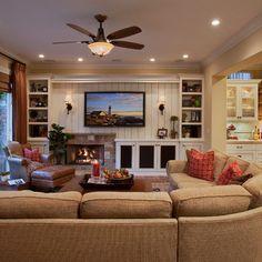 Built In Media  Mediterranean Haven   Traditional   Family Room   Orange  County   Cindy Smetana Interiors