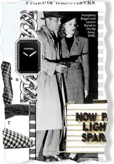 Rare Tweed clipped from Marie Claire using Netpage. Love her coat!!